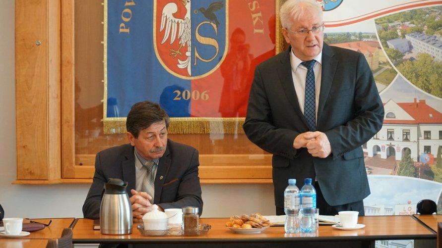 Samorządowcy rozmawiali o współpracy w zakresie usprawnienia służby zdrowia w Zwoleniu