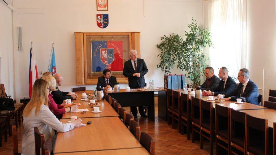 Przedstawiciele samorządów z terenu powiatu zwoleńskiego rozmawiali o współpracy